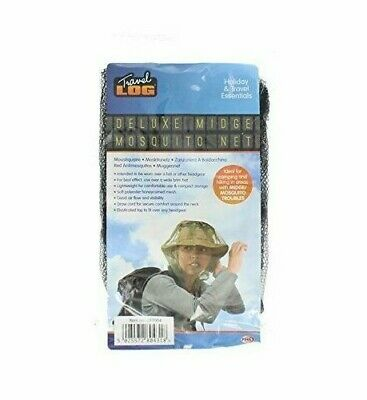 Midge Mosquito Mosi Insect Bug Mesh Head Net Face Protector Travel Camping