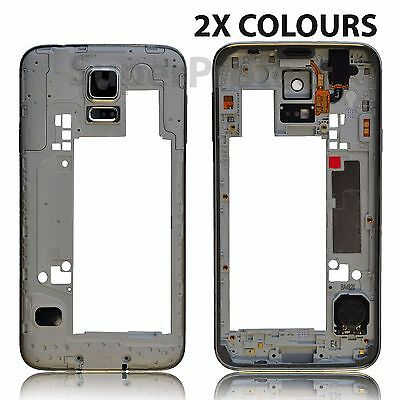 Genuine Original Samsung Galaxy S5 Chassis Bezel Mid Frame Housing G900F / I9600