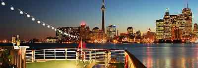 Mariposa Cruises + Toronto Sightseeing Cruise For Family Of Four + Valid Any Day