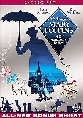 BRAND NEW Mary Poppins (DVD, 2004, 2-Disc Set)