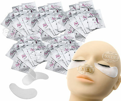 Lint Free 50 Pairs Under Eye Gel Pads for Eyelash Extention