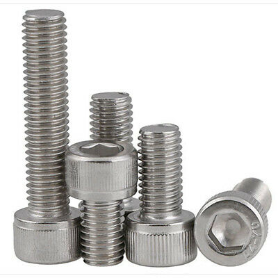 M6 M8 M10 M12 316 A4 Stainless Steel Allen Bolt Socket Head Cap Screws Din912