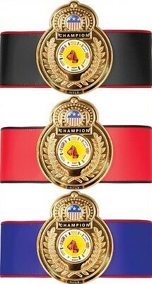 Old School Boxing Championship Title Belt Kickboxing Competition Award