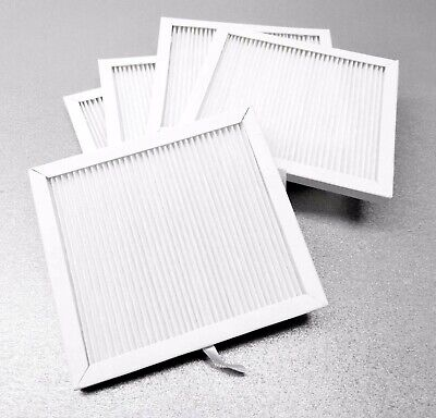 FOREDOM Dust Collector FILTER Fine Dust PLEATED Paper 5-PK MAFH109-5 for  Hood