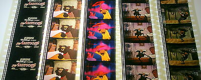 Disney's - The Aristocats-  Rare Unmounted 35mm Film Cells - 5 Strips