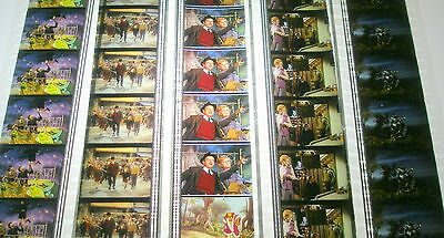 Disney's - Bedknobs and Broomsticks -  Rare Unmounted 35mm Film Cells - 5 Strips