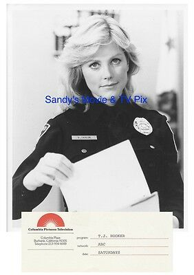 APRIL CLOUGH Terrific ORIGINAL TV Photo T.J. HOOKER