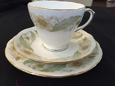 Duchess Trio, Cup Saucer And Side Plate - England 'greensleeves' In Ex. Cond