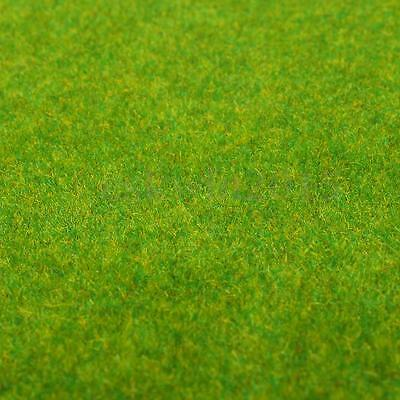 50x50cm Landscape Grass Scale Mat Model Train Adhesive Paper Scenery Layout Lawn