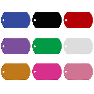 20pcs/lot Militry Personalized Dog ID Tags Engraved Pet Cat Puppy Name Wholesale