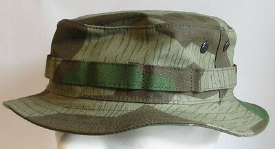 RECCE Hat Boonie      WH - Splinter  Camouflage    - Made in Germany -