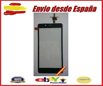Pantalla Tactil Para Zte Blade V220 Negro Negra Black Cristal Glass Touch Screen
