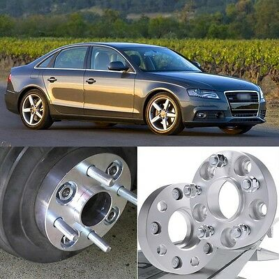 4pcs 5X112 66.6CB 25mm Thick Hubcenteric Wheel Spacer Adapters For  Audi A4