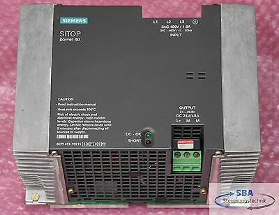 Siemens SITOP power 40 6EP1437-1SL11 E.Stand 7 /  6EP1 437-1SL11