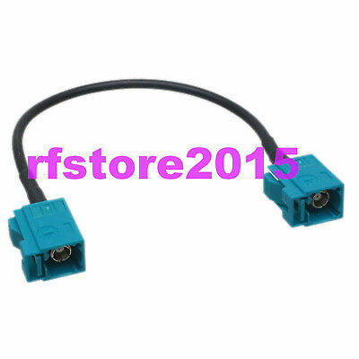 Cable RG174 6inch Fakra SMB Z 5021 female to Z female jack RF Pigtail Jumper