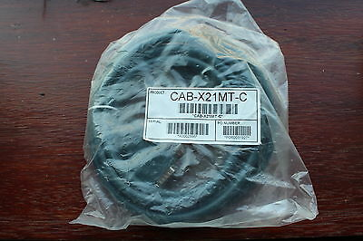 Cisco Network Serial DTE 3-metre cable CAB-X21MT LFH 60pin - DB 15pin NEW/SEALED