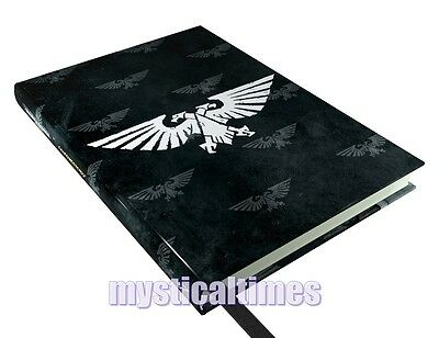 NEW GAMES WORKSHOP WARHAMMER IMPERIAL AQUILA  18cm NOTEBOOK JOURNAL  FREE POST