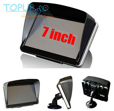 Sun Shade Visor Shield For Car GPS Sat Nav 7'' 7 Inch Screen Blind Cover Cap 1Pc
