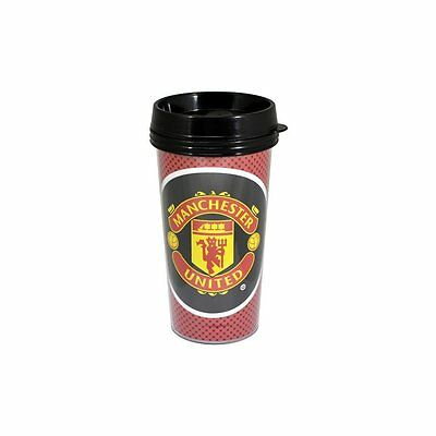Manchester United Official Travel Mug - Multi-Colour