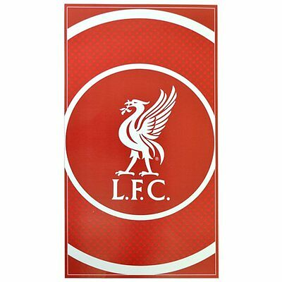 Liverpool 'Bullseye' Large Velour Beach Towel