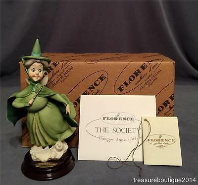 "~Mint in Box~Giuseppe Armani Disney Sleeping Beauty Fairy ""Fauna"" (609 C)"