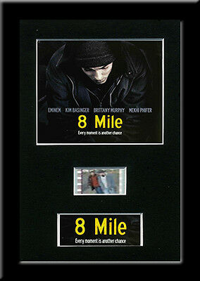 8 Mile Framed 35mm Mounted Film cells - filmcell movie