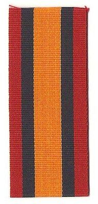 """Queen's South Africa Medal (1899-1902) 6"""" Full Size Ribbon / Canada & GB"""
