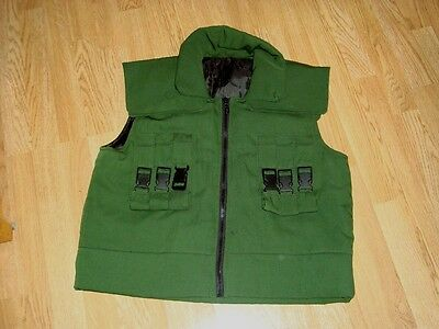 Naruto Jonin Vest Cosplay Custom Made Fits up to XL Mint condition Well Made