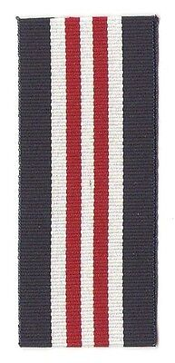 """Military Medal 6"""" Full Size Ribbon / Canada & Great Britain"""