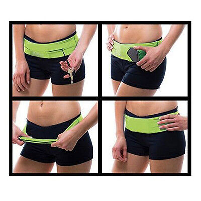 Flip Style waistband exercise Fitness and Running Belt for mobile cash keys Card
