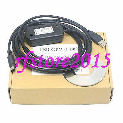 USB-GPW-CB02 PLC Cable for Proface Download Cable USB to RS232 Adapter