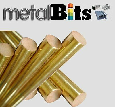 Brass round bar CZ121 (Various sizes available) Imperial