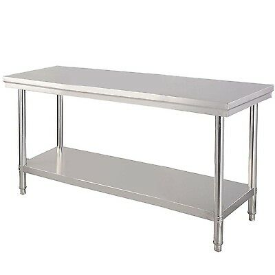 "24"" x 48"" Stainless Steel Work Prep Table Commercial Kitchen Bench Pickup Only !"