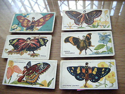 "PICK-A-CARD FROM B.A.T. ""BUTTERFLIES GIRLS""  1928 - rare"