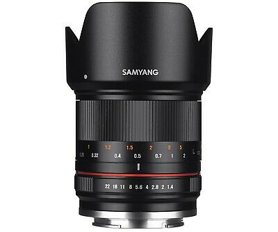 Samyang 21mm F1.4 ED AS UMC CS APSC Wide Angle Lens for Sony E mount ILCE