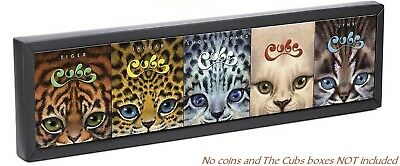 Tuvalu 2016 The Cubs Big Cats OFFICAIL Display Box for 5 Coin Series (No Coins)