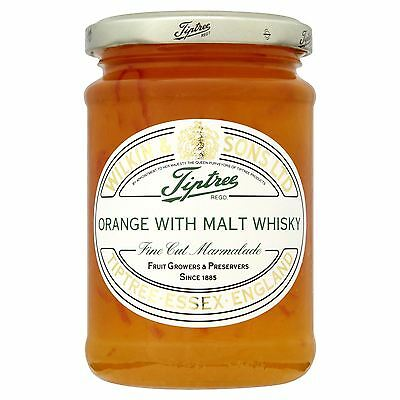 Wilkin & Sons Ltd Tiptree Orange with Malt Whisky Fine Cut Marmalade 340g