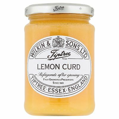 Wilkin & Sons Ltd Tiptree Lemon Curd 312g
