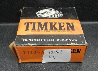 Timken 14136A Tapered Roller Bearing