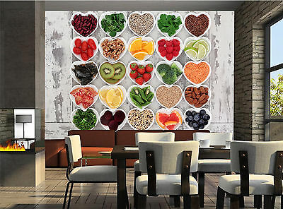 Detox Diet Food  Wall Mural Photo Wallpaper GIANT WALL DECOR PAPER POSTER