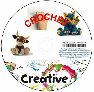 Crotchet Patterns & Guides for Beginners and Advanced Crochet Download