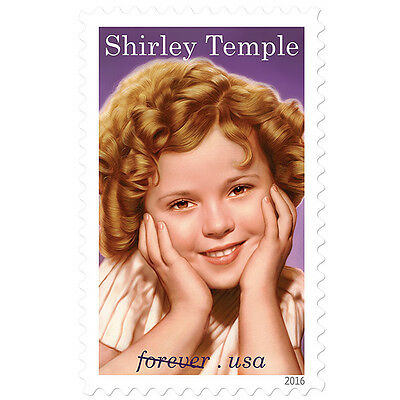USPS New Shirley Temple PSA Pane of 20