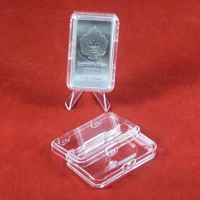 Silver Bullion Bar Holder for 10oz Scottsdale or APMEX Stacker Silver Bars 2 ct