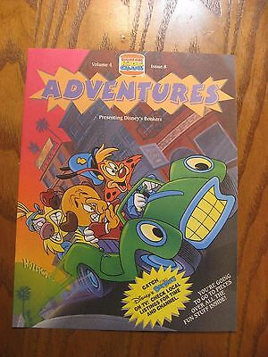 Burger King - Disney Bonkers- Adventures Leaflet Magazine- Vol. 4 Issue 8 -1993