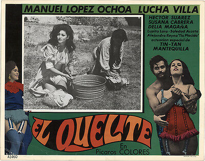 El Quelite 1970 Original Movie Poster Comedy Drama War