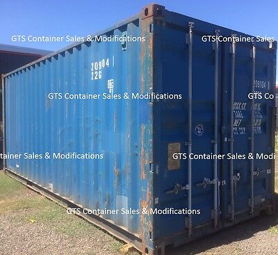20FT Used Shipping Containers for sale - ex ADE