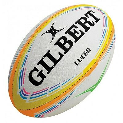 GILBERT Luceo Night Trainer Rugby Ball (SIZE 5) | BUY NOW!