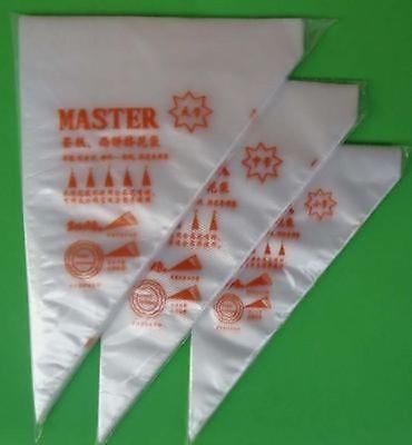 Disposable Cream Pastry Cake Icing Piping Decorating Drcorate Bags Tool
