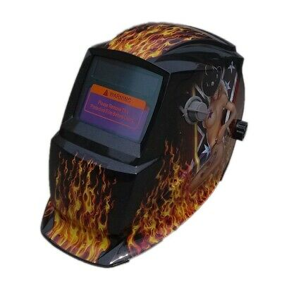 Arc One Welding Helmets in Dark Shade having Fascinating Designer Graphics on it