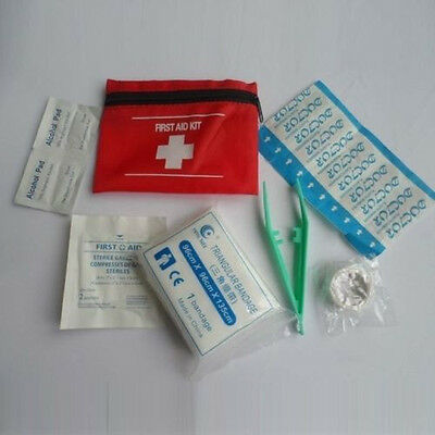 First Aid Kit Emergency Safety Travel In Mini Bag Travel Sports Home Office Car